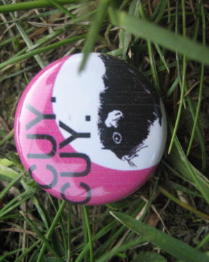 BUTTON CuyCuy pink