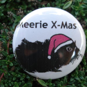 "Button ""Meerie X-Mas"""
