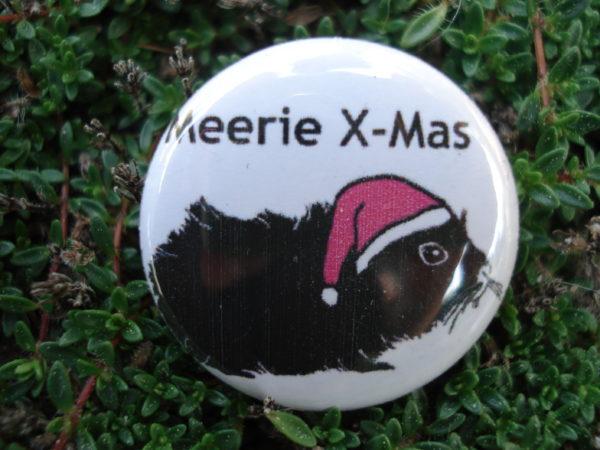 "Button ""Meerie X-Mas"""