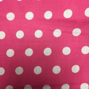 Matte-rosa-weisse-Punkte